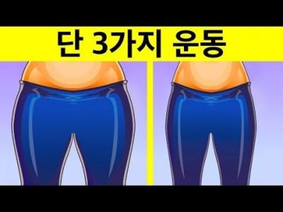 [허벅지 지방연소] 허벅지 지방을 태우는 3가지 운동