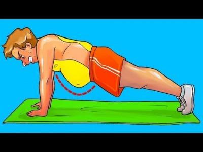 [배살빼기] 한 달 내로 복부 지방을 없앨 수 있는 홈트레이닝 운동법