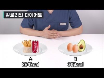 [칼로리의 진실] 다이어트의 진실! 칼로리 그냥 무시하세요~