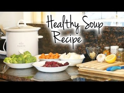 [Healthy Soup] Recipe for Belly Fat,  Weight Loss, Immune Bo…