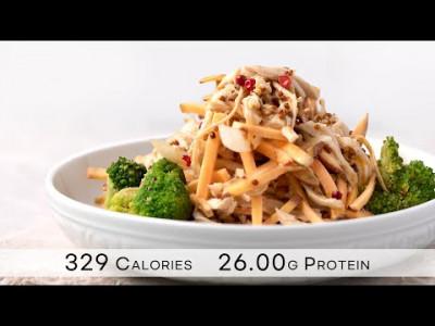 다이어트 고구마 요리 , 드레싱이 맛있는 닭가슴살 고구마 샐러드 만들기 : 329 Calories